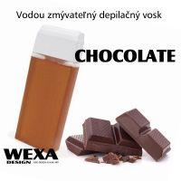 Vodou zmývateľný depilačný vosk - Chocolate