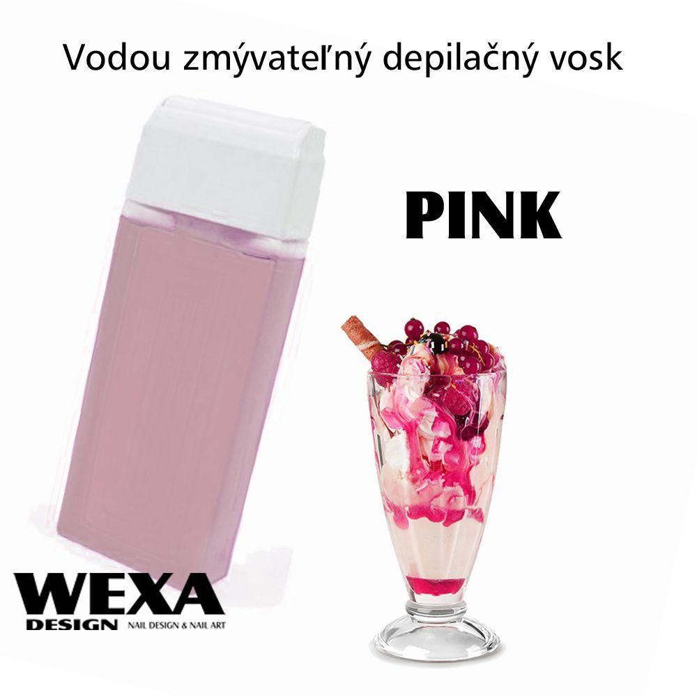 Vodou zmývateľný depilačný vosk - Pink