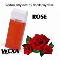 Vodou zmývateľný depilačný vosk - Rose