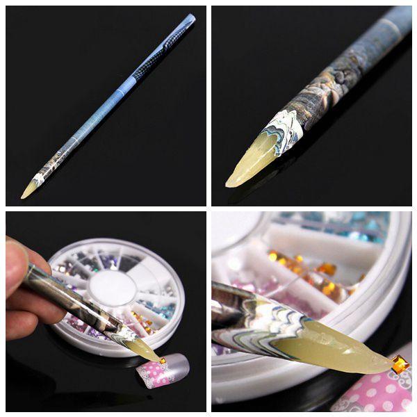 Vosková ceruzka na aplikáciu kamienkov