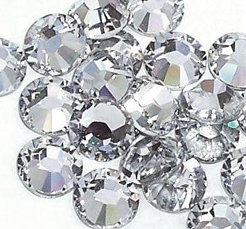 ZIRKONIUM sklenené kamienky na nechty AAA Quality - Crystal