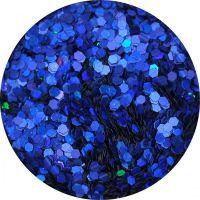 Konfety Flitre Mini Slim - 15 blue metal hologram