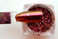 Mirror Nail Flakes 1 - metalické chameleon vločky