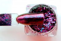 metalicke chameleon zrkadlove prasky na nechty