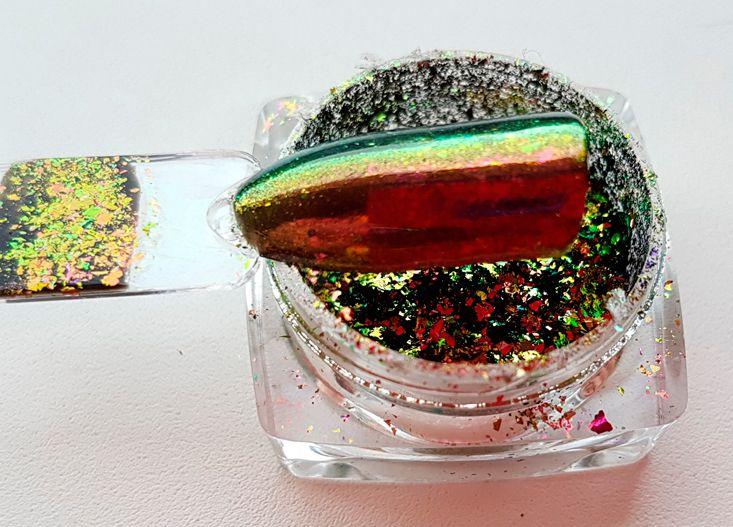 transparent miror chameleon vlocky