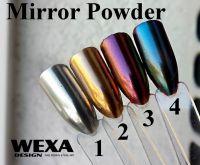 Mirror Powder A - chrómový, zrkadlový prášok na nechty