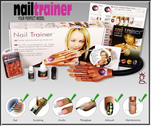 Original Nail Trainer Hand