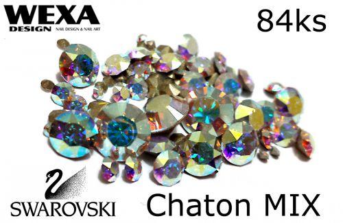 Swarovski chaton mix - kamienky na výrobu šperkov