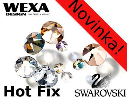 Swarovski nažehľovacie kamienky Hot Fix