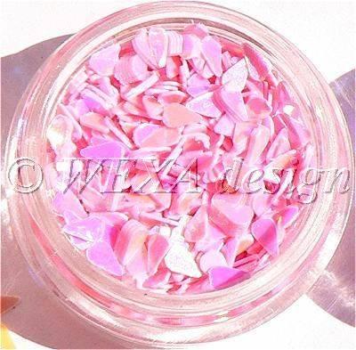 Konfety slzičky - 3.ružové