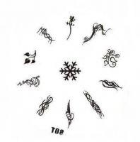 Tribal Stamping Nail Art platnička - T08
