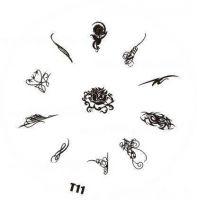 Tribal Stamping Nail Art platnička - T11