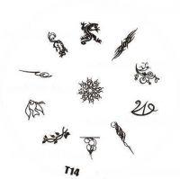 Tribal Stamping Nail Art platnička - T14