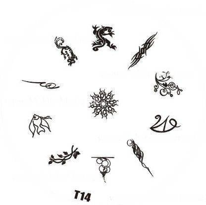 Platnička pre Stamping Nail Art