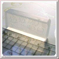 Silikónové formičky na vytváranie akrylového 3D zdobenia nechtov