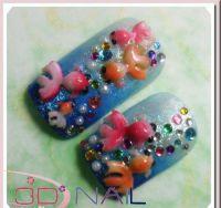 3D formička - Goldfish 037
