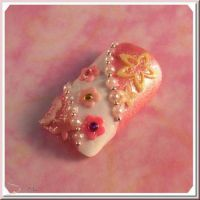 3D formička - Flower 1 , 054