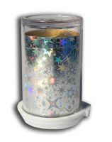 Transfer fólia - Silver starburst