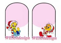 Nail Tattoos - Christmas Tweety - 87