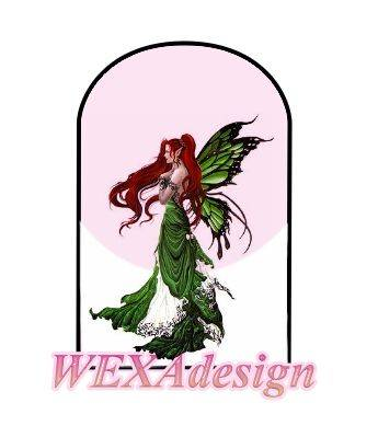 Nail Tattoos - Fairy Emerald L -1