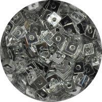 Konfety štvorčeky s dierkou mini - STV 1