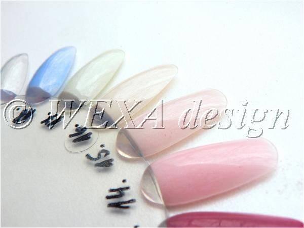Farebný akryl perleťový P17 - biela