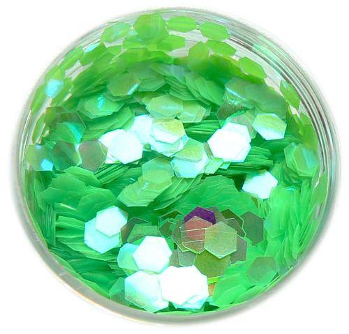 Konfety hexagony plné - C51