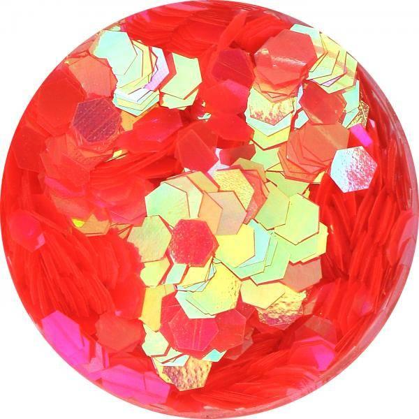 Konfety hexagony plné - C52
