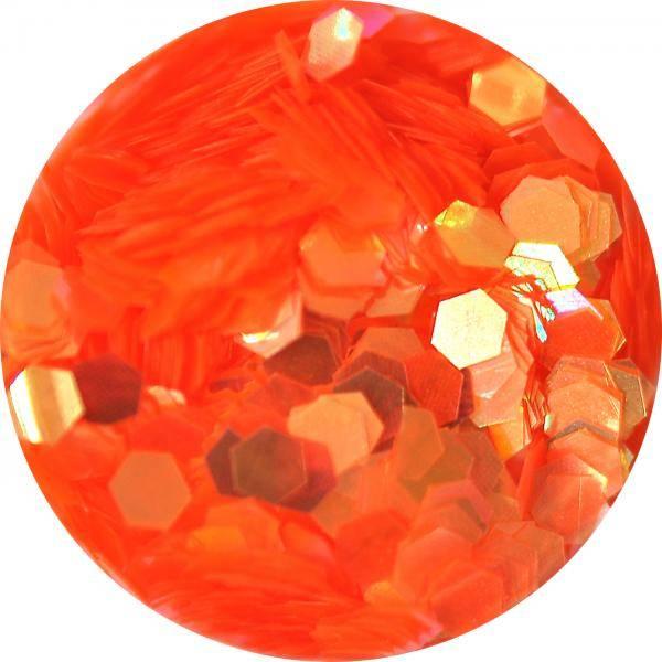 Konfety hexagony plné - C54