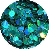 Konfety hexagony plné - LB702