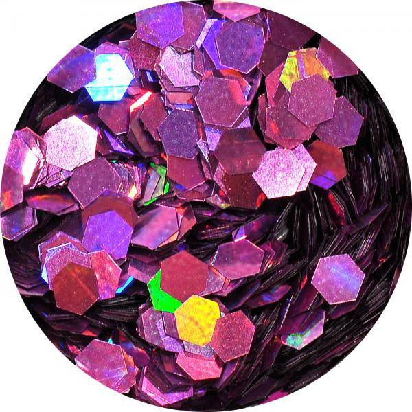 Konfety hexagony plné - LB901