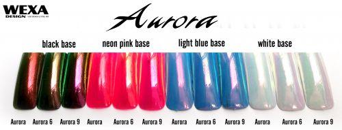 Aurora pigment na nechty
