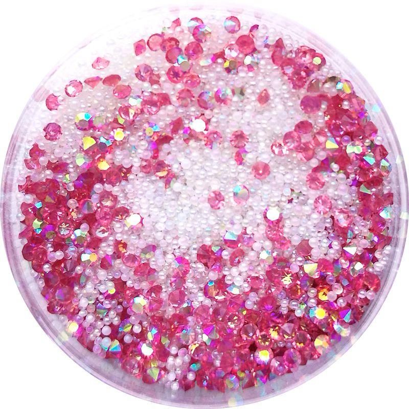 Crystal Pixie - Mix na zdobenie nechtov Red