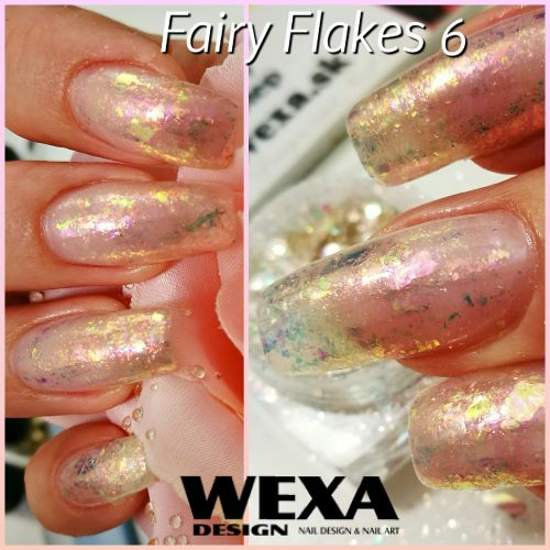 Fairy Flakes - Opal Flakes - vločky na nechty z odleskom