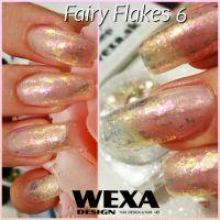 Fairy Nail Flakes 6 - vločky na zdobenie nechtov