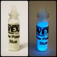 Glow Powder - Fosforový prášok - Blue
