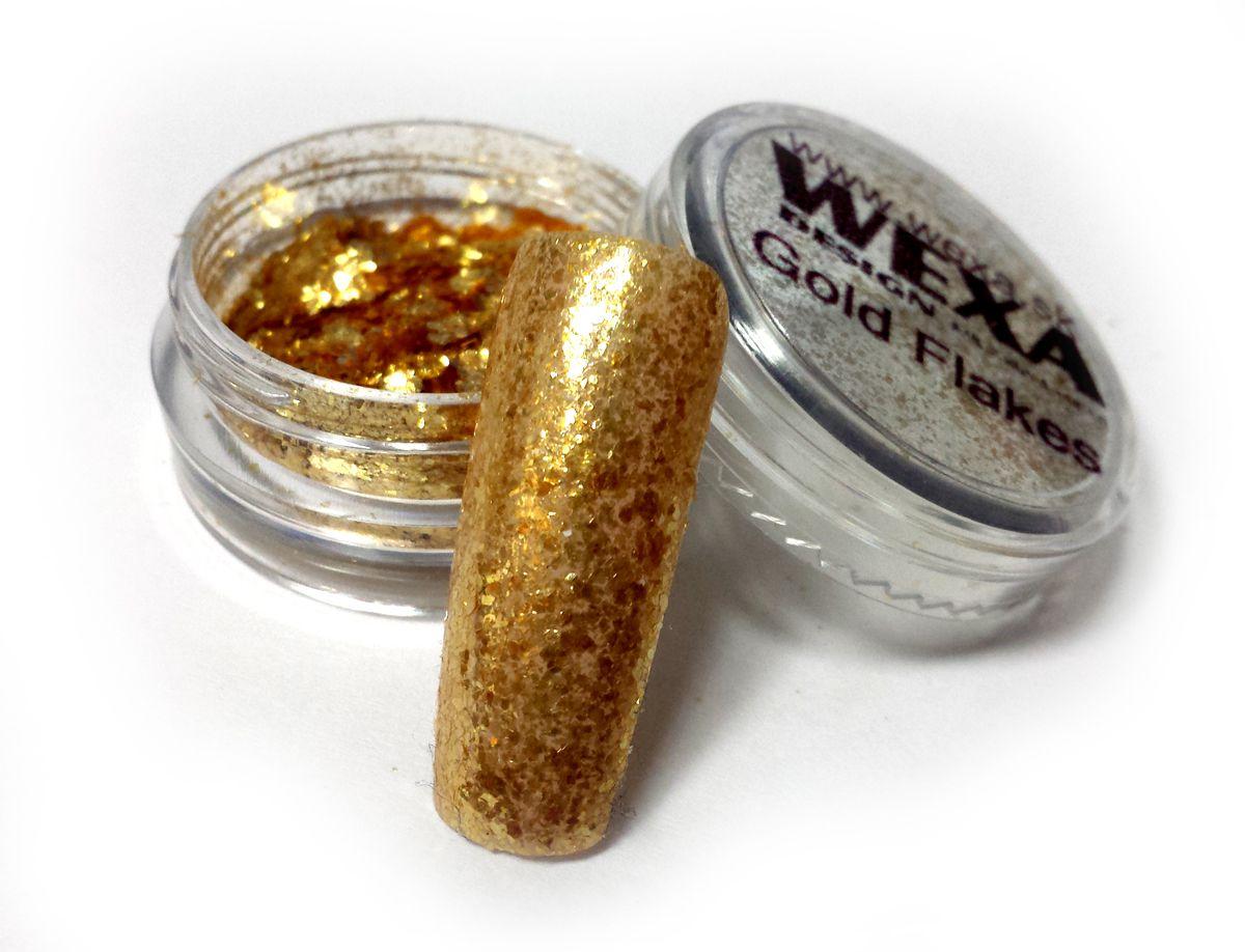 zlaty prasok jemne supinky vlocky