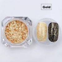 Gold Flakes - zlaté vločky na nechty