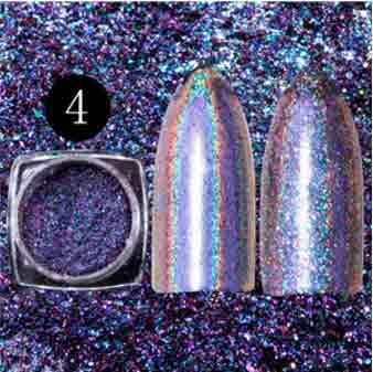 Holographic Chameleon Flakes na nechty 4