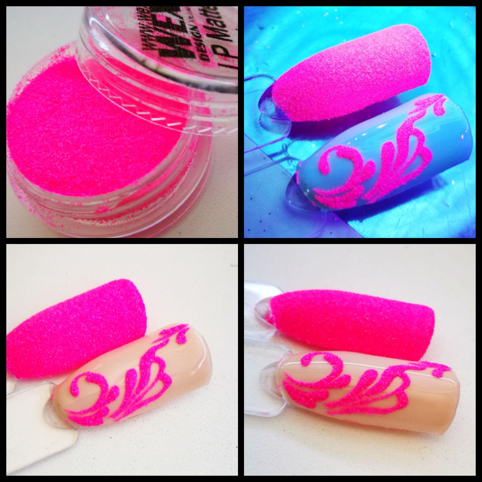 Luxury Powder - Matte Pink matný púder na nechty
