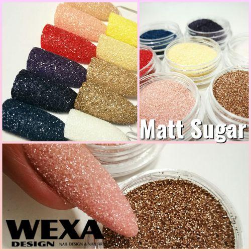 Matný prášok na nechty Matt Sugar Effect