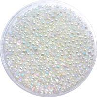 Mini perličky na nechty - Aurora Borealis Big