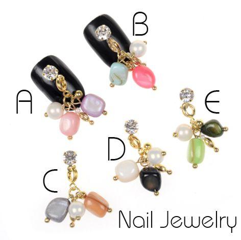 Nechtové šperky s kamienkami