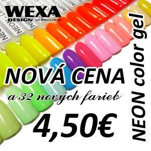 Farebné neónové uv gély na nechty vo výbornej kvalite za skvelú cenu