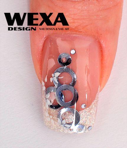 ozdoby na gélové nechty wexa obrúčky