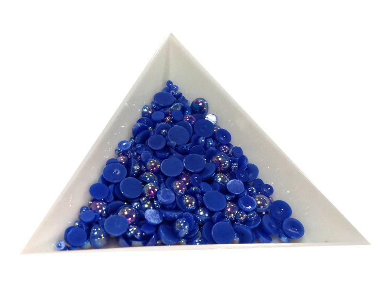 Pol Perličky na zdobenie nechtov Mini Mix Blue AB 14