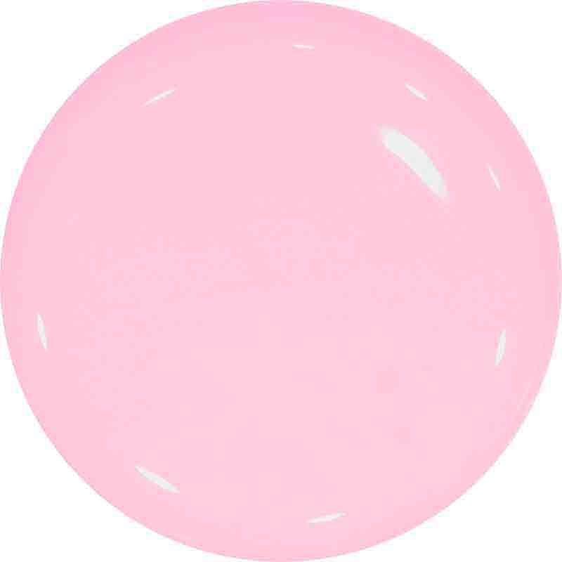 pastel pink farebny gel na nechty