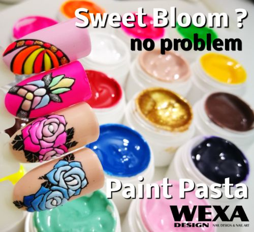 Sweet Bloom Nails WEXA Paint Pasta uv gel.