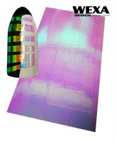 Holographic Foil Sticker - Pink