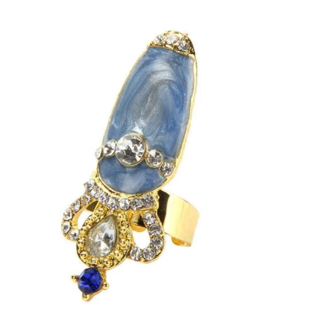 Nail Ring 8 - prsteň s nechtom